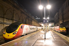Virgin Trains Pendolino 390127 Virgin Buccaneer & VT East Coast 91107 Skyfall (Will Swain) Tags: city uk travel november england west station train coast scotland edinburgh britain centre main north transport platform scottish rail railway trains class line east virgin vehicles wc vehicle northern railways vt 91 platforms waverley 22nd buccaneer 390 mainline vtec 2015 pendolino skyfall 91107 vtwc 390127