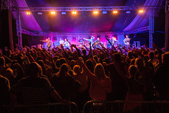 2015_ChrisStanbury_Saturday (68) (Larmer Tree) Tags: 2015 saturday handsintheair pronghorn audience bigtop chrisstanbury