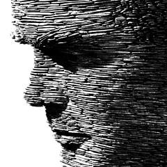 Turing statue2 (Luekippos) Tags: statue slate turing
