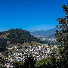 Day 245. Down in the city now, which means there's nowhere to go but up. Two or three days from posting up at Lake Atitlan. #theworldwalk #travel #guatemala
