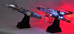 Rebels (dmaclego) Tags: lego star wars xwing ywing fighter