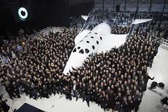 SpaceShipTwo Unveiled in Mojave (ewellcastledt) Tags: spaceshiptworichardbransonspacewhiteknightmojavecar spaceshiptwo richardbranson space whiteknight mojave ca rangerover landrover whiteknighttwo sirrichardbranson