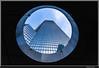 La Défense - O (François Leroy) Tags: françoisleroy france paris défense puteaux hauts seine architecture batiment tour geometrie lignes perspectives courbes o ciel bleu