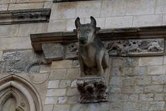 Saint Omer, Nord-Pas-de-Calais, Cathédrale Notre-Dame, south transept, entry, detail