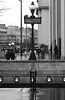 Metro trocadero (AbdelBokeh) Tags: tower effeil girl sexy portrait hat paris trocadero rain raining metro monochrome