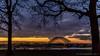 Het Engelse Werk, Zwolle (JnHkstr) Tags: ijssel zwolle sunset zonsondergang brug bridge gelderland nikon d7100 sigma 1750 trees silhouet