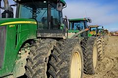 Big wheels (Let Ideas Compete) Tags: construction heavyequipment tractors deere johndeere 9510 tread tire tires 9510r mud bigwheels dirty dirt