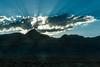 Early morning sunrise (David Bunn) Tags: davidbunn family vacation clouds mountains sillouette sunbeams sunrays