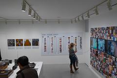 Listen Up (Dominic Sagar) Tags: itsasony 2016 cyndilauper fujifilm japan lisa museum sony t050 t100 t200 xt1 headphones music poster recordplayer video wall chūōku tōkyōto jp