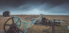 on the shingle again.......  :)) (frattonparker) Tags: nikond7000 tamron1024mm raw dungeness frattonparker btonner lightroom6 panorama