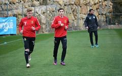 Tamirlan estarà a prova amb el primer equip