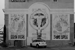 Cross reference (dangr.dave) Tags: mclennancounty waco tx texas downtown historic architecture jesus christ mural