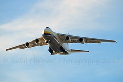Antonov Design Bureau Airlines UR-82029 Antonov An-124-100 Ruslan cn/19530502630-210 taken from my hotel room @ LPPT / LIS 11-01-2017 (Nabil Molinari Photography) Tags: antonov design bureau airlines ur82029 an124100 ruslan cn19530502630210 taken from hotel room lppt lis 11012017