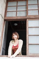 DSC_5637 (錢龍) Tags: 希維亞 小希 文創園區 外拍 beauty sexy nikon d700 girl 短髮