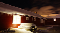 it's Good Night from Norway and from us (lunaryuna) Tags: norway northernnorway lofoten lofotenislands lofotenarchipelago vestvagoy ballstad rorbu holidayhome night nightlights norwegianwood nocturnalphotography nightphotography winter season seasonalwonders snow lotsofsnow icicles cosyhome lunaryuna