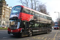 Transdev Riding Redefined 3615 BL65YYN Peter Melville Smith Volvo B5TL Wright Gemini3 (6228 Leeds) Tags: transdev riding redefined 3615 bl65yyn peter melville smith volvo b5tl wright gemini3 harrogate cenotaph