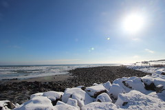 DPP_5095 (dncummings) Tags: york maine january snow coast ocean nature landscape photography coastline nubble lighthouse