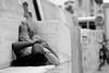 Relax|Favignana|Italy (Giovanni Riccioni) Tags: favignana sicily relax blackandwhite giovanniriccioniphotography blackwhite black white street man uomo manlyingdown isoleegadi egadiislands egadi canon canoneos1000d