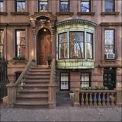 L1000248 SQUARE PORTRA (Damien DEROUENE) Tags: damienderouene leica m240 architecture building street brooklyn heights newyork nyc