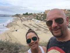 Last day @ Tenerife (radioink) Tags: costaadeje adeje 2017 beach tenerife sea south sun vacation holiday sand spain