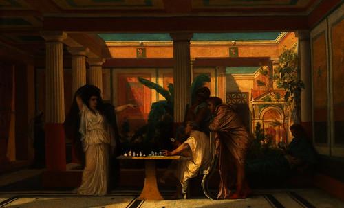 "Petteia - Ludus Latrunculorum  / Iconografía de las civilizaciones helenolatinas • <a style=""font-size:0.8em;"" href=""http://www.flickr.com/photos/30735181@N00/32481373636/"" target=""_blank"">View on Flickr</a>"