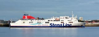 Stena Lagan on the Mersey.