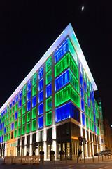 Frankfurt am Main - Luminale 2016, Bankhaus Bethmann (CocoChantre) Tags: bauwerk bethmann deutschland europa fassade frankfurtammain haus hessen lichtinstallation luminale nachtaufnahme welt de