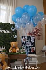 Urso e Ursa decoração dupla (Decorações JB) Tags: decoração dupla ursos pra gemeos casal de festa para dois temas em uma e ursas mamãe urso papai chá bebe revelação familia balões borboletas