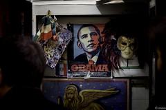 Yesterday & Today (Maurizio_Barbato) Tags: venice italy italia obama canon 70d mizio street bar photography old new leone lion coffee