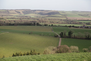 From Beacon Hill twrds Old Winchester Hiil, across the Meon Vallay