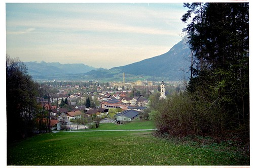 View of Kiefersfelden, Bavaria, Germany