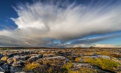 Big Sky Burren. (Tony Brierton) Tags: 5217 clouds coclare ice landscape sky theburren weather