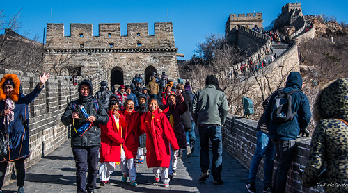 2016 - China - Great Wall of China - Badaling - 1 of 6