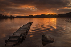 Loch Ard 2 (davidballantyne2) Tags: sunrise lochard thetrossachs aberfoyle scotland leefilters water outdoors landscape