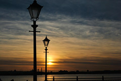 You light up my life  . (j . mahon) Tags: sunset light liverpool