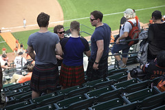 Kilt Men (Generik11) Tags: sf people fashion baseball sfgiants kilts ballpark sfist attpark