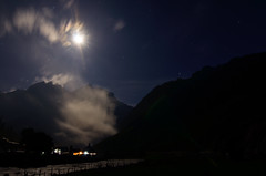 Moonlight on the Thajiwas glacier. (parmeetkohli) Tags: life flowers blue friends sunset wild vacation sky mountains green trek reflections climb rainbow wind walk lakes meadows halo alpine kashmir trout himalayas