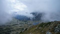 Lacul Bucura vazut de pe Custura Bucurei