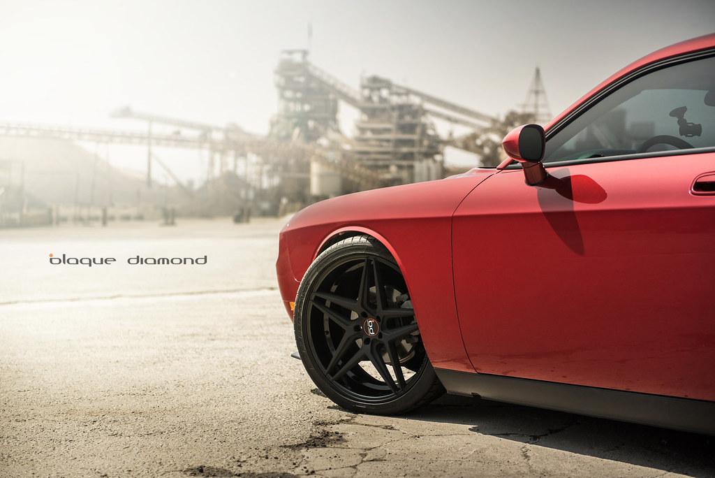 Blaque Diamond Bd 8 2014 Dodge Challenger