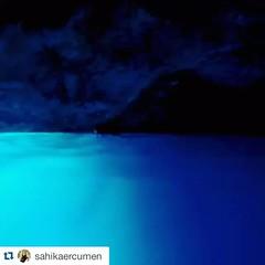 She comes from the blue. #Repost... (cedmen1) Tags: ocean blue light sea love swimming freedom sand underwater dream deep diving freediving cave dreamer repost shadesofblue nogravity uploaded:by=flickstagram repostapp instagram:photo=1066635806131418354144232876 sahikaercumen sahikaninmavidunyasi instagram:venuename=dragomanoutdooractivitiescentre instagram:venue=312006341