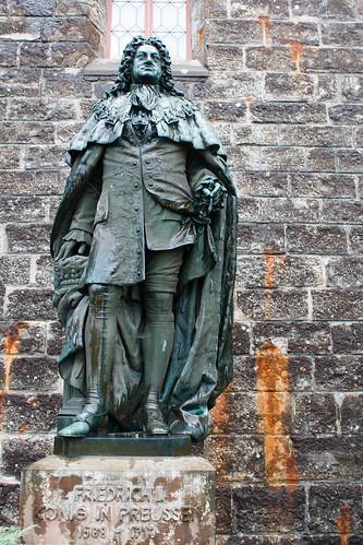 Statue de Frédéric Ier de Prusse (1688-1713) au château de Hohenzollern
