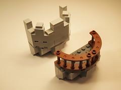 Modular Castle 44 (michaelkalkwarf) Tags: tower castle wall architecture buildings michael lego bricks medieval modular ideas fortress components battlement lug moc kingdoms afol brickcon kalkwarf
