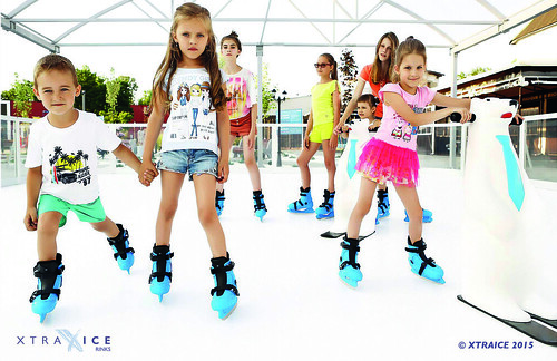 Synthetic ice rink in Russia ©  XTRAICE