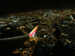 Circling SJC before heading off to the north (vrkrebs) Tags: california sunnyvale unitedstates sanjose southwestairlines