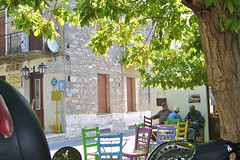 caf du matin (Fif') Tags: sea mer island see seaside mediterranean aegean greece more balkans griechenland grce balkan le mditerrane 2015 ormos balos ge koumeika koumeikon