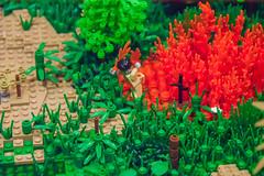 Search and destroy, Vietnam, 1972 (SEdmison) Tags: california us vietnamese lego military vietnam american convention santaclara 1972 nva bricksbythebay bricksbythebay2015