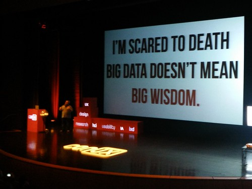 Big Data Does Mean Big Wisdom. by m.gifford, on Flickr