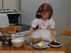 Cooking (Little little mouse) Tags: bjd dollfie tansy kayewiggs tanlaryssa inspiredbymarthaboers