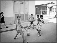Cuba, 2012 (Lisa Sakulensky Photography) Tags: kids football streetphotography streetkids