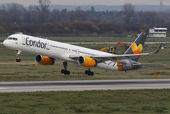 D-ABOF Condor Boeing 757-330(WL) *Hannover-Airport Sticker* (°TKPhotography°) Tags: